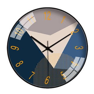 12In Wall Clock US Super Silent Non Ticking Quartz Battery Operated 12H