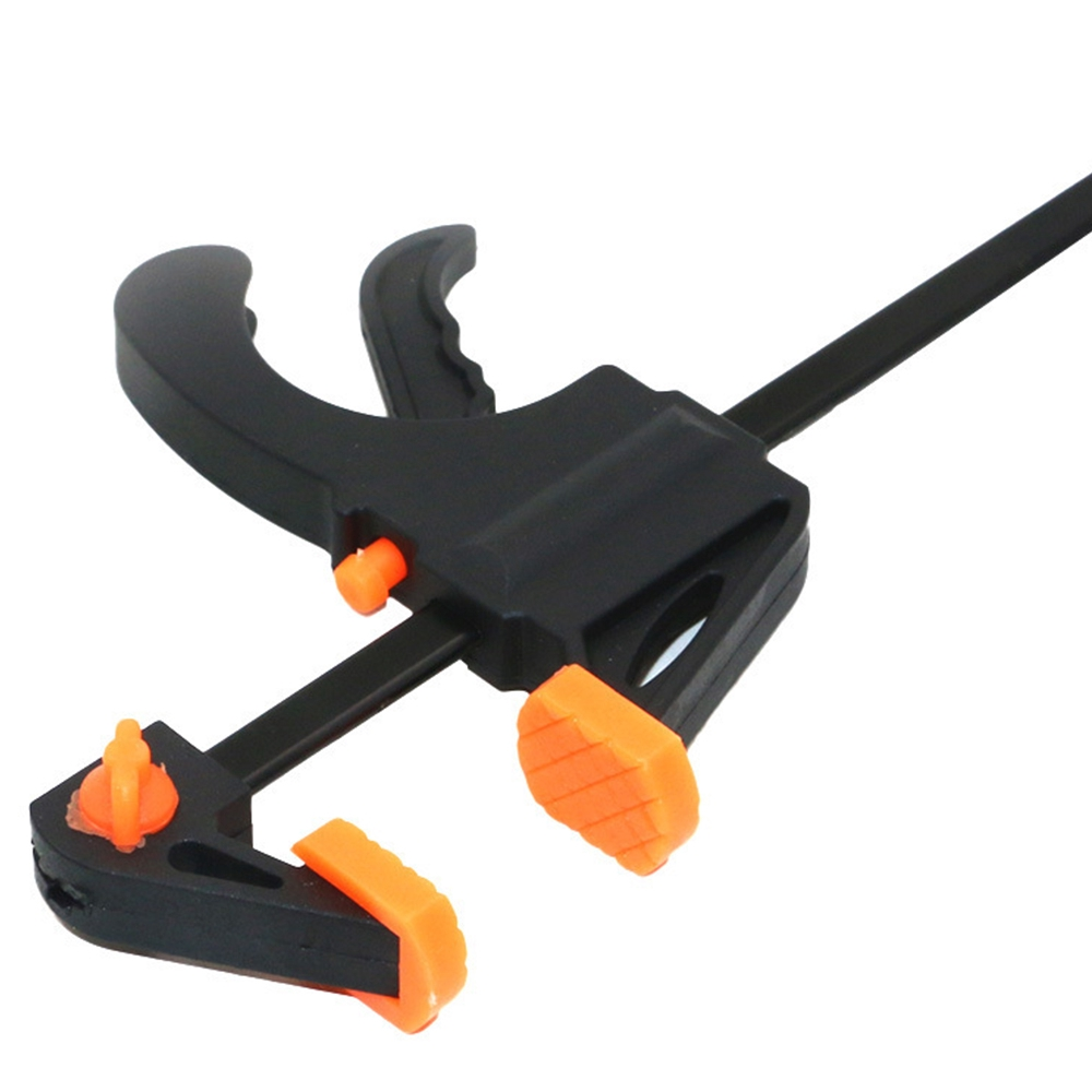 7.5 inch F Woodworking Clamp Clamping Adjustable Carpentry Gadget Tool Plastic