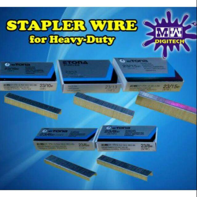 Gun Tacker Staple wire | Shopee Philippines