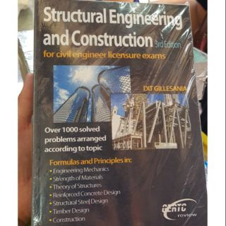 Structural Engineering and Construction 3rd Edition