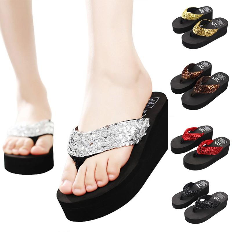 cf0a7a116233 Sandals 2018 women s new summer thick bottomed women s shoes ...