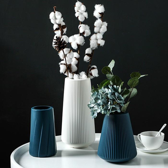 Cd Home Decor Nordic Style Vases Morandi Corlor Simple Plastic Flowers Vases For Home Decoration Home Flower Arrangement Art Creative Vase Interior Design Decoration Shopee Philippines