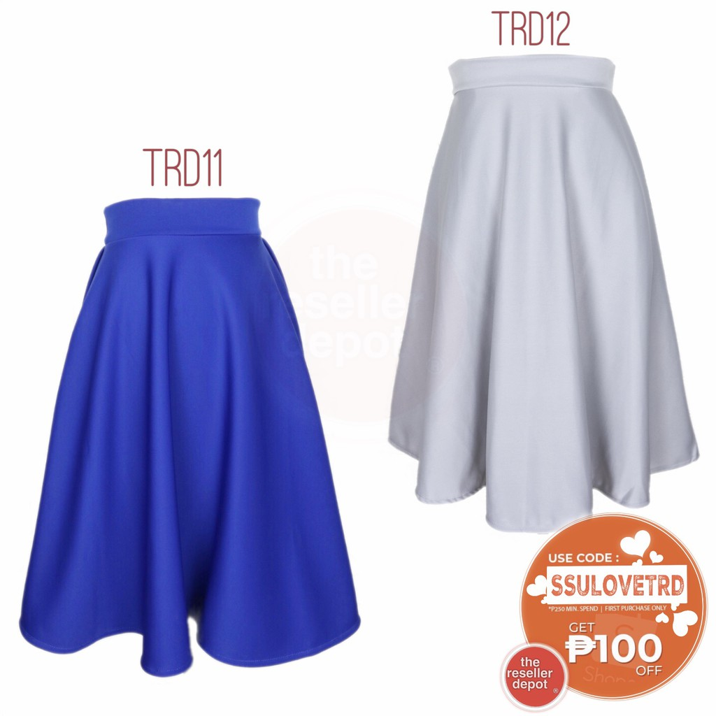 99f1a243f midi skirt - Prices and Online Deals - Women's Apparel Jun 2019 | Shopee  Philippines