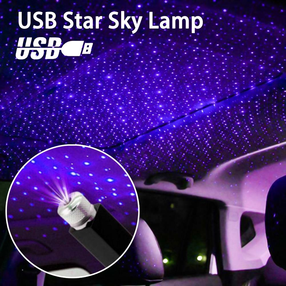 Usb Car Roof Atmosphere Star Sky Lamp