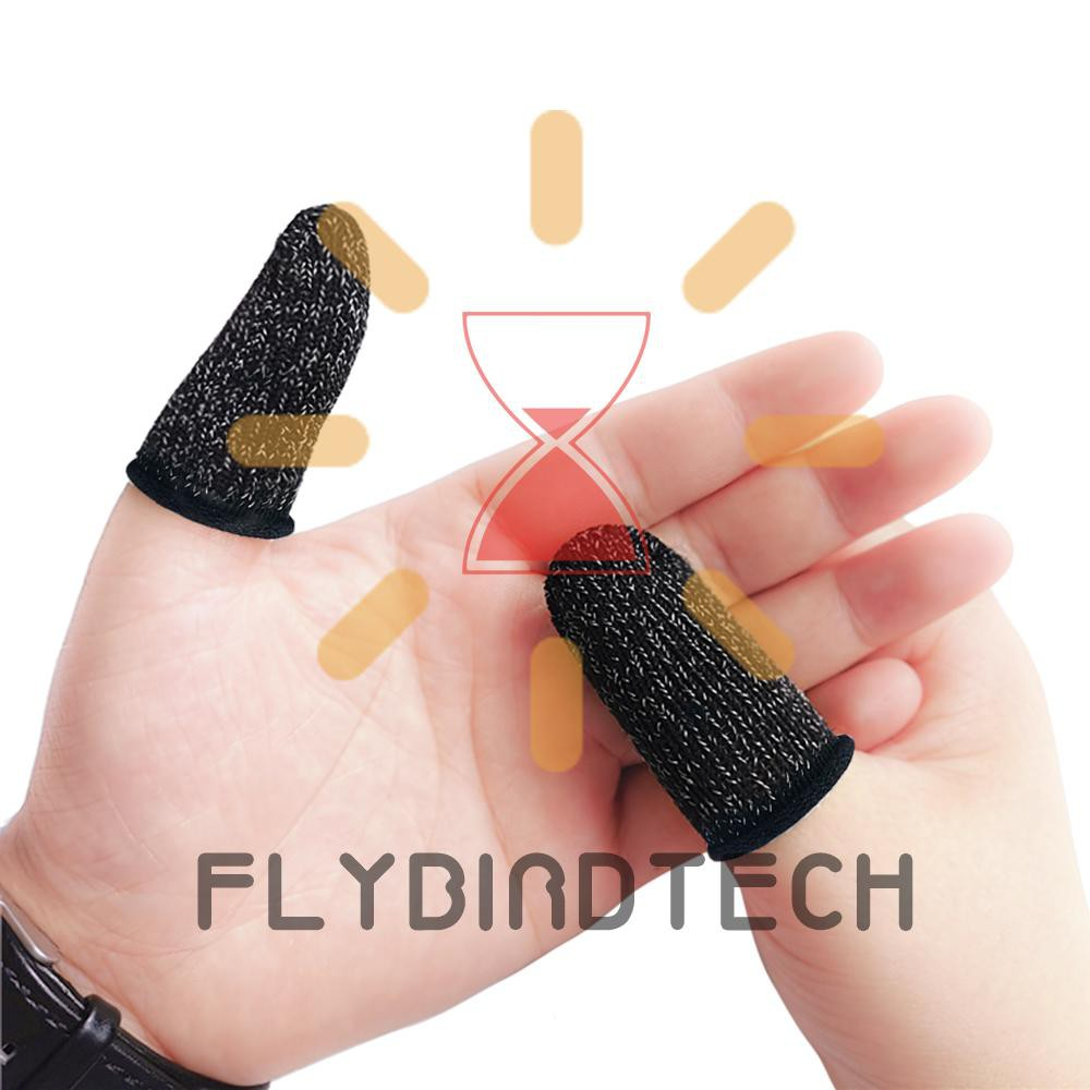 Full Touch Screen Game Fingertips Sweat-Proof Anti-Static Mobile Phone Tablet Finger Sleeve Gloves