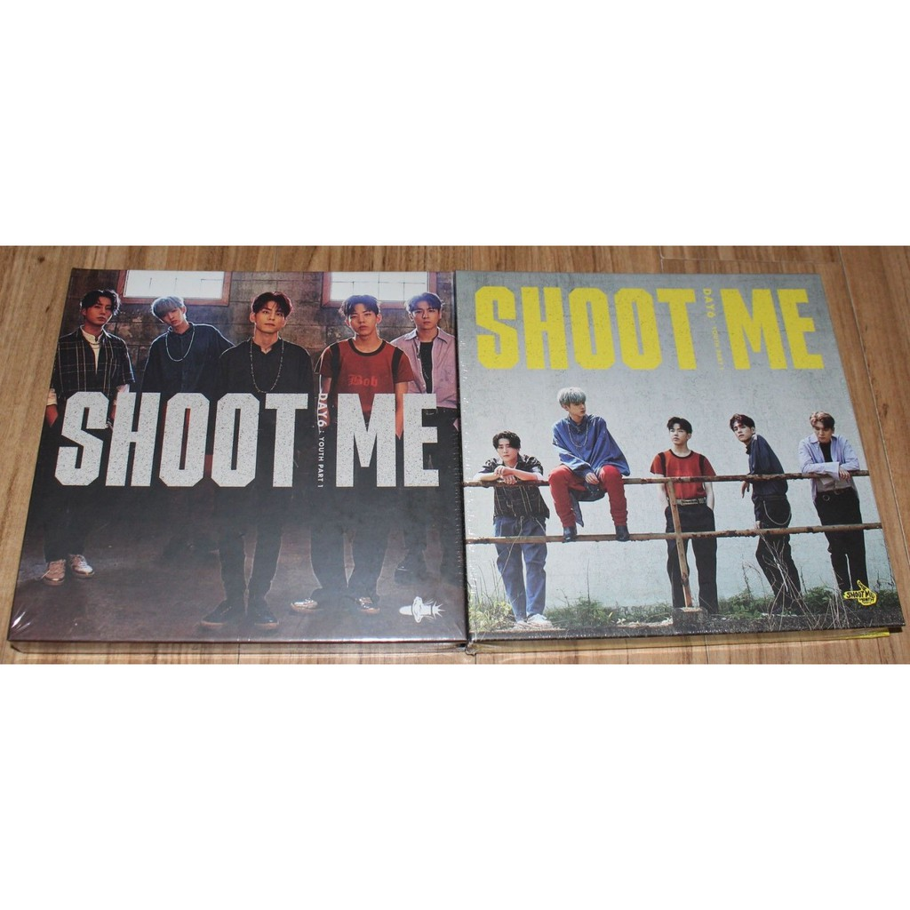 ONHAND]DAY6 -SHOOT ME : YOUTH PART 1(3RD MINI ALBUM)NO POB