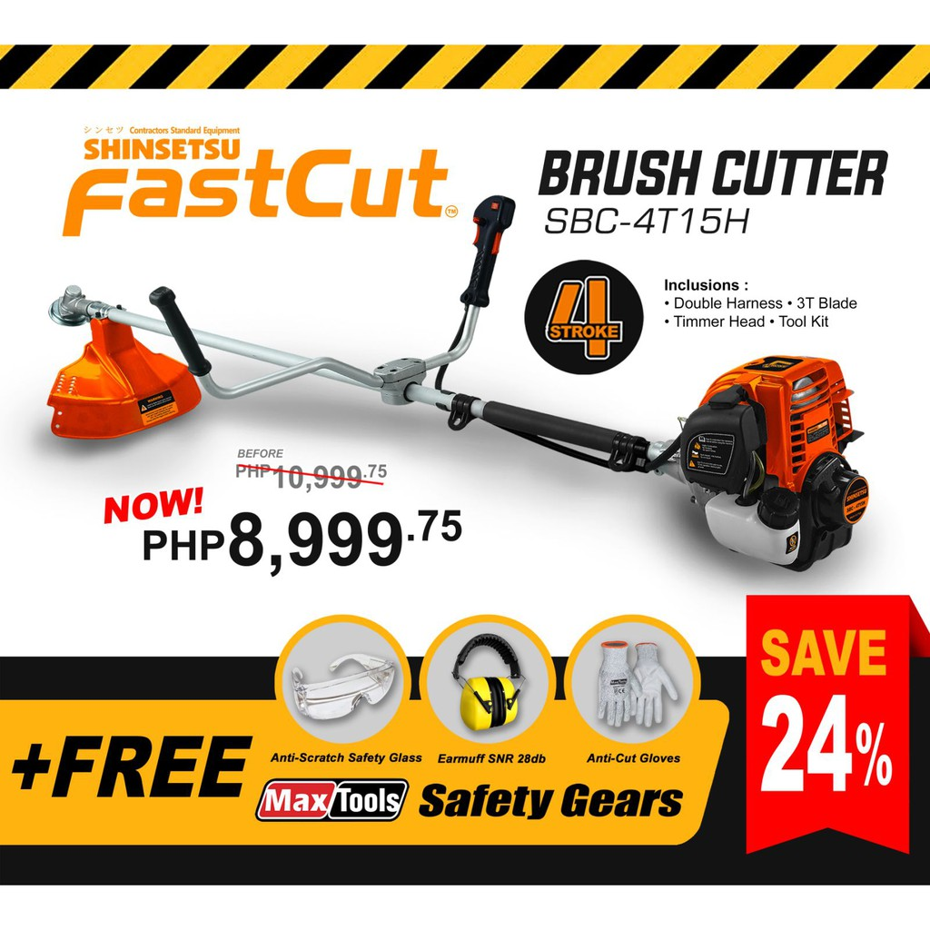 Shinsetsu Fastcut Brush Cutter Shopee Philippines