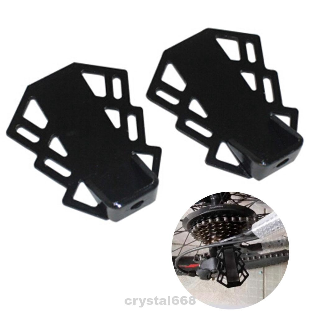 Aluminum Alloy MTB Bike Pegs Foot Pedals Backseats Stands Bike Accessorie