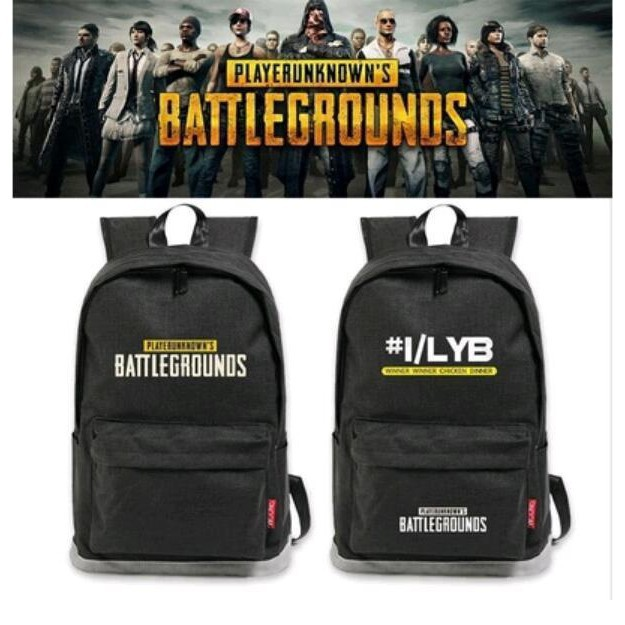 fade012b0a Student Oxford Cloth Backpack Playerunknown's Battlegrounds | Shopee  Philippines