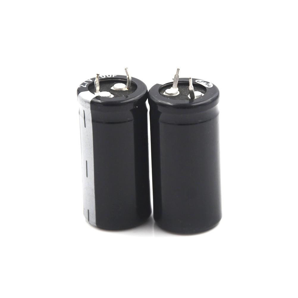 ♟2Pcs Super Capacitor 2 7V 100F Ultra Capacitor Farad New Ele[BB]