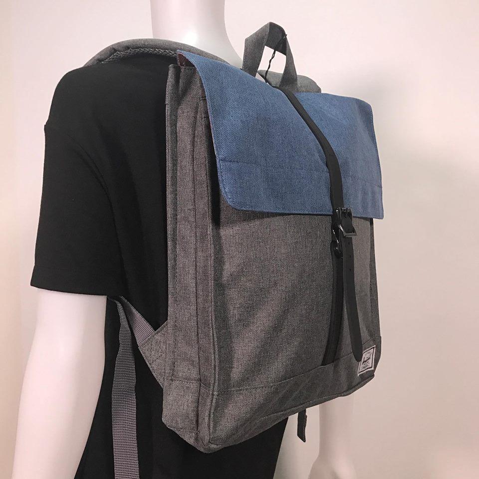 Herschel City Backpack Mid-Volume 10.5L Wine Brown   Shopee Philippines 21ad4c31ca