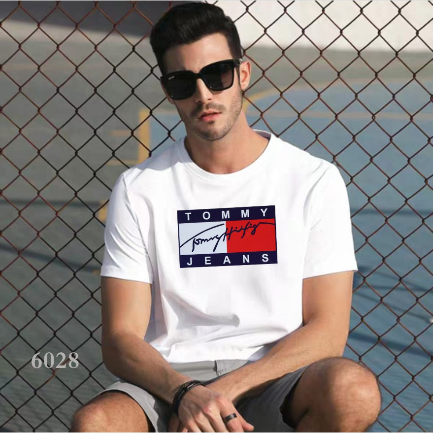 Round Neck Casual Fit Men's TShirt for Men Fashion Tops #6028