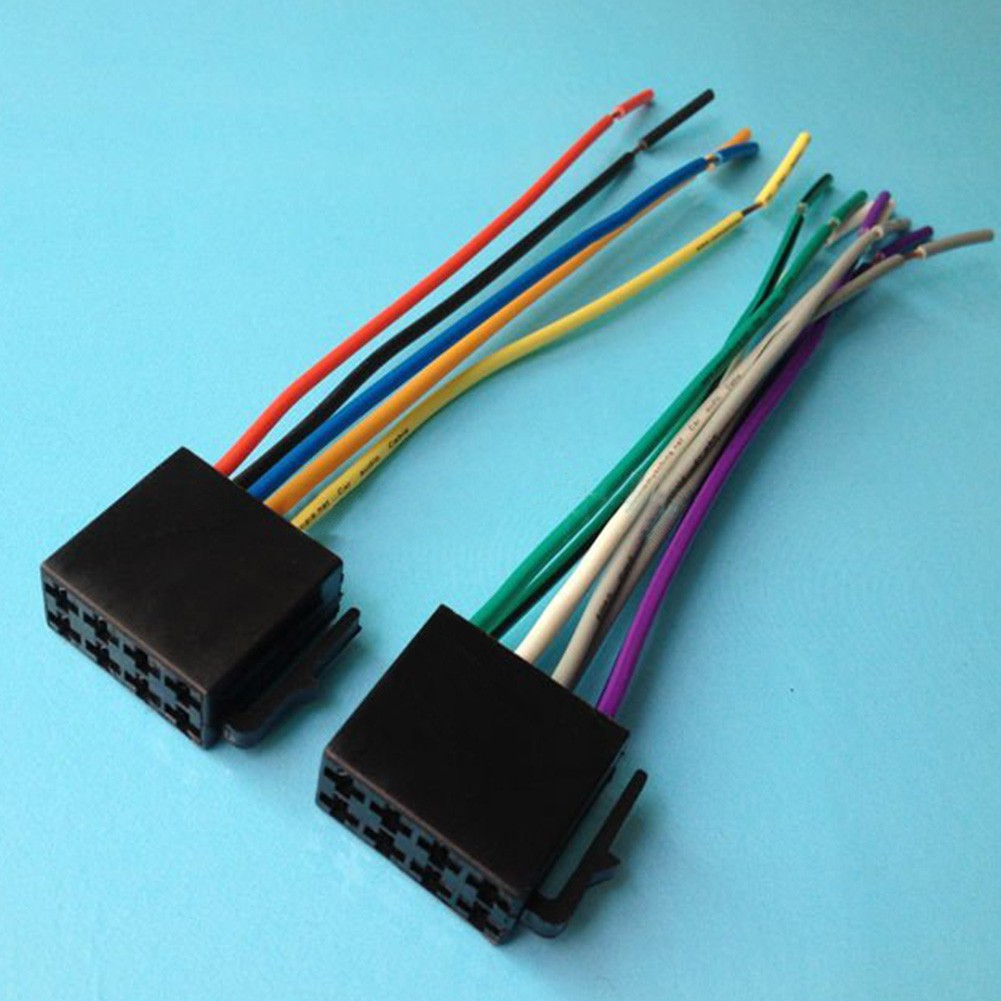 🍑Universal Car Stereo / Radio Wire Audio Wiring Harness Power Plug on car stereo cover, car stereo with ipod integration, car stereo sleeve, car stereo alternators, car wiring supplies, leather dog harness, 95 sc400 stereo harness, car fuse, car speaker,