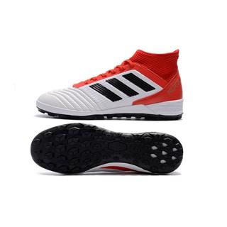 adidas Predator Tango 18.3 TF mesh knit red white mens soccer football shoe39 45