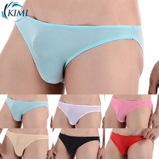 Details about  /Mens Bottoms Sheer Mesh Pouch Thongs Striped G-String Briefs Bikini Underpanties
