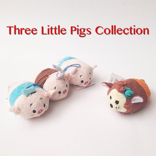 Three Little Pigs And Big Bad Wolf Tsum Set