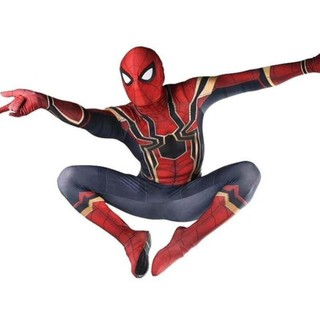 7f6a0ce57 2018 Marvel Avengers Iron Spiderman full suit costumes cosplay ...