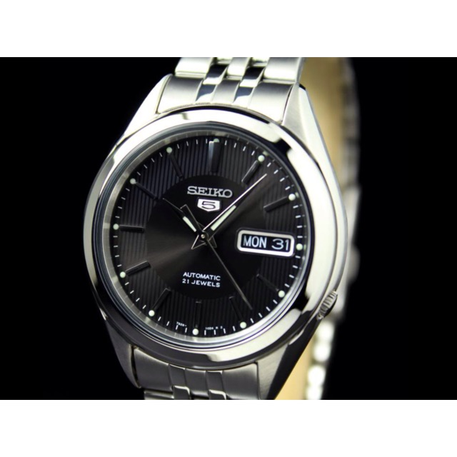 Seiko 5 Snkl23 Stainless Steel Automatic Watch Snkl23k1 Shopee