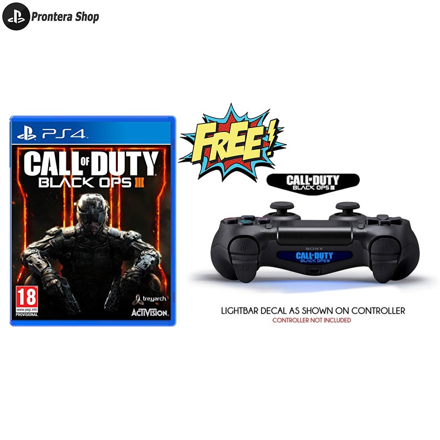 SONY Play Station PS4 PS 4 Game Call of Duty Black Ops III 3