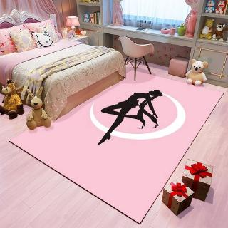 Carpet Men And Women Household Living Room Rug Pink Bedroom Bedside Coffee Table Pad Shopee Philippines