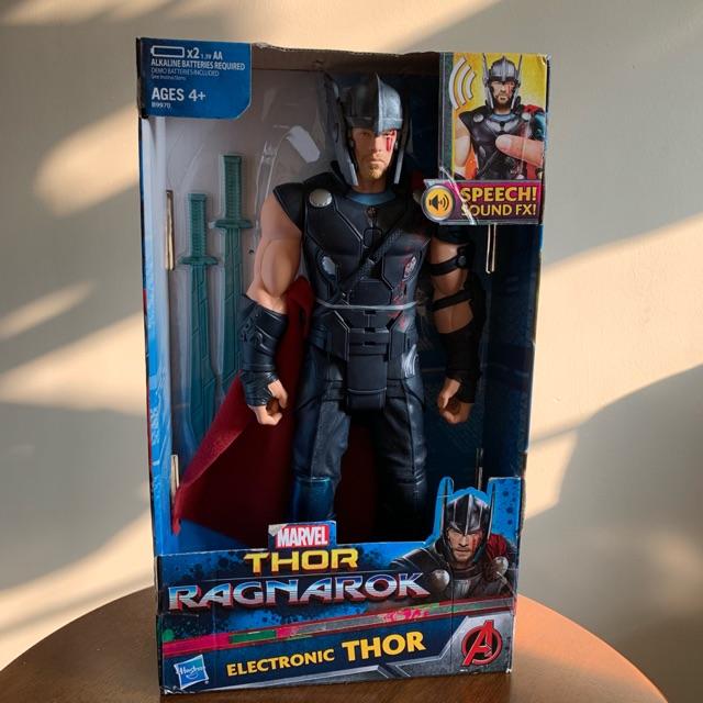 Ragnarok Electronic Thor Sound Effects FX Avengers Endgame NEW Marvel Thor