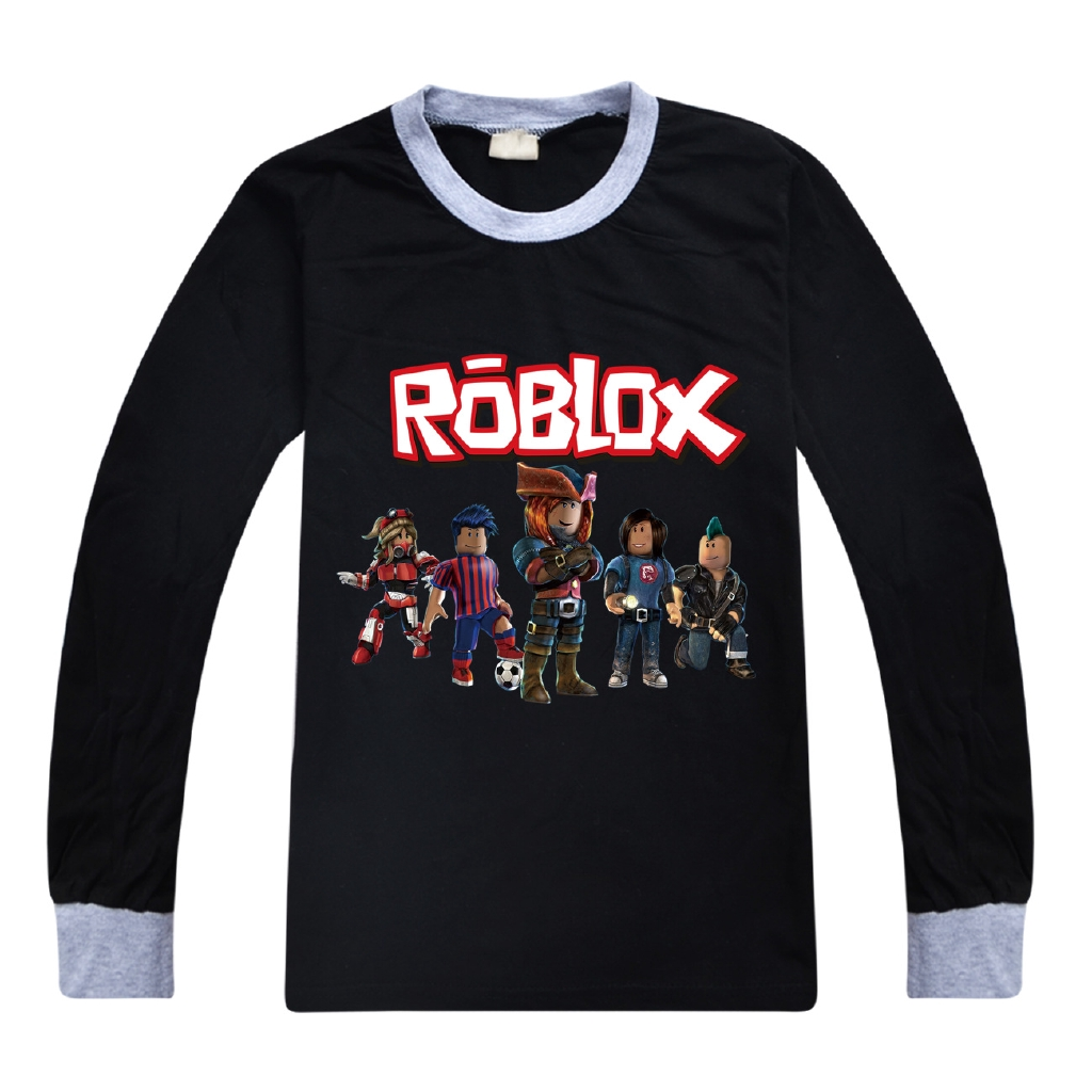 Roblox Clothing Codes For Shirts Girls Roblox Red Nose Day 2020 Teens Long Sleeve T Shirt For Boys And Girls Children S Bottom Shirt Cartoon Tops Pure Cotton Shopee Philippines