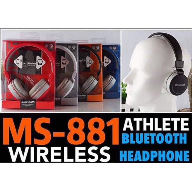 Jbl Ms 881 Wireless Bluetooth Headphones Bluetooth Headset Shopee Philippines