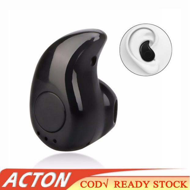 COD ❤ S530 Stealth Headphone Mini Wireless V4.0 Bluetooth Earphone
