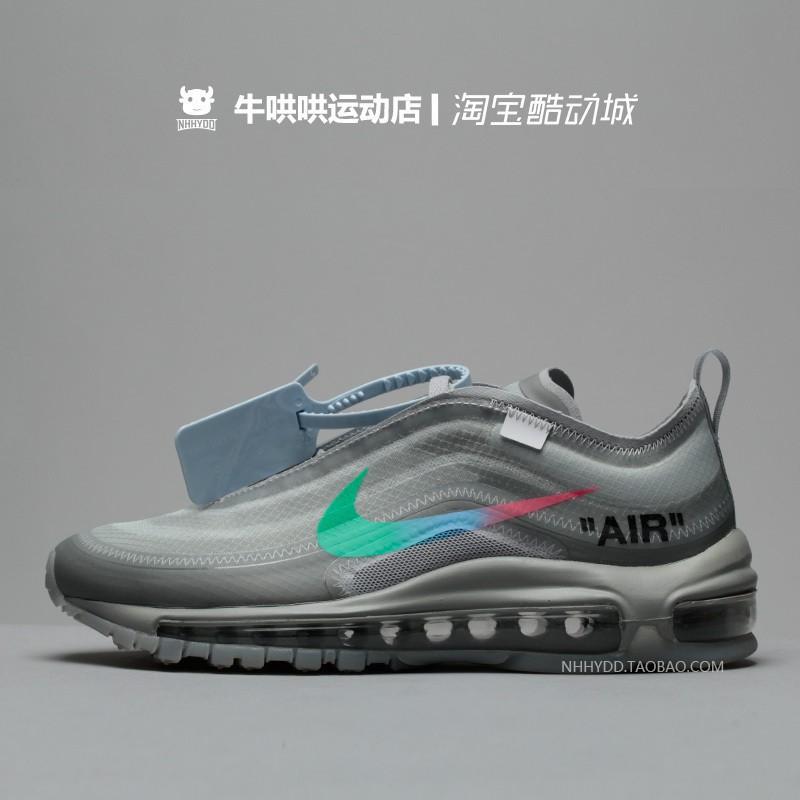super popular 7f792 f352b 100% Original Casual OFF-WHITE x Nike Air Max 97 Menta Casual Casual  Sneakers