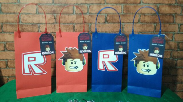ROBLOX Themed Loot Bag Php35 each | Shopee Philippines
