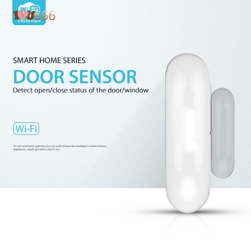 ★★★ Google/Alexa/IFTTT Magnet Home Security Burglar Alarm Door Window  Sensor Smart
