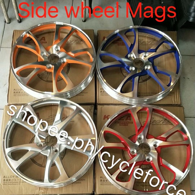 side wheel mags price for 1pcs only