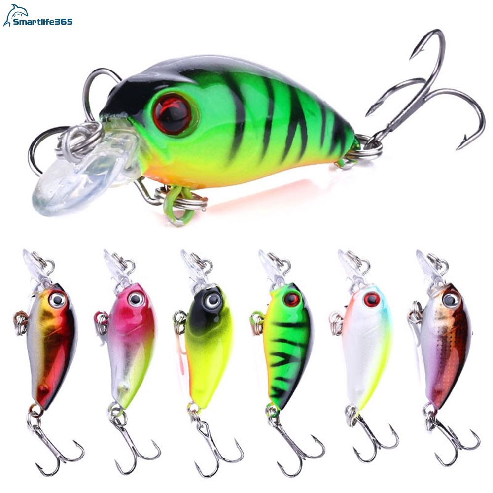 5x fishing floating insect bait Fly lure Lures fish hook Crank Crankbaits 3g 5cm