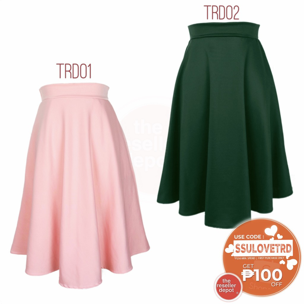 c08848ccb6af LIM OVERLAP SKIRTS#759 | Shopee Philippines