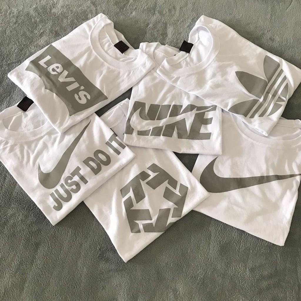 New Nike Cotton Men And Women T-Shirt Fashion Overrun