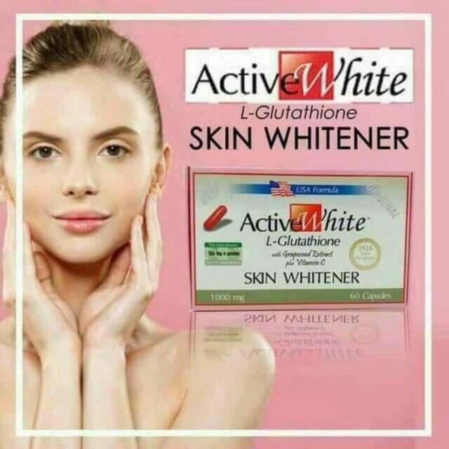 [READY STOCKS] AUTHENTIC ACTIVE WHITE 60 CAPSULE PER BOX