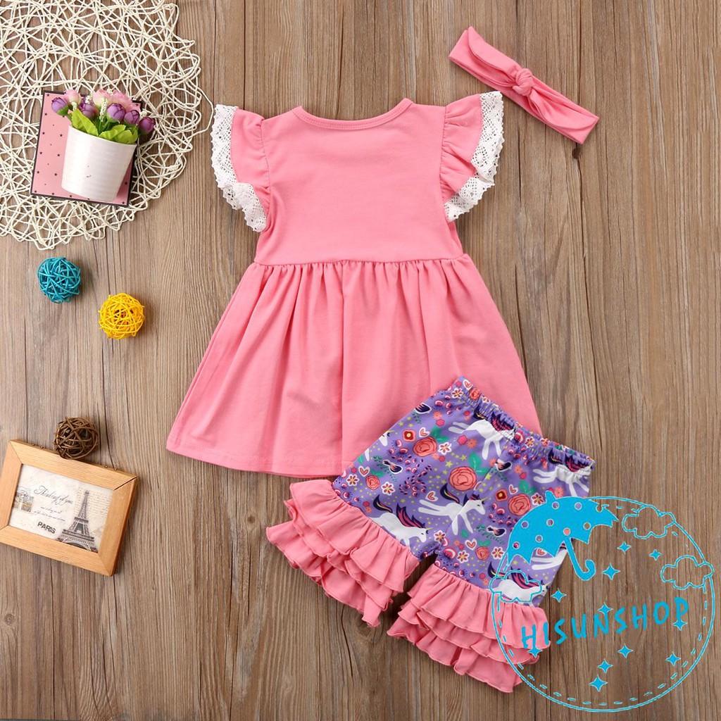 63614c47f7113 N.I-Summer Sleeveless Toddler Kids Girls Unicorn Tops Dress