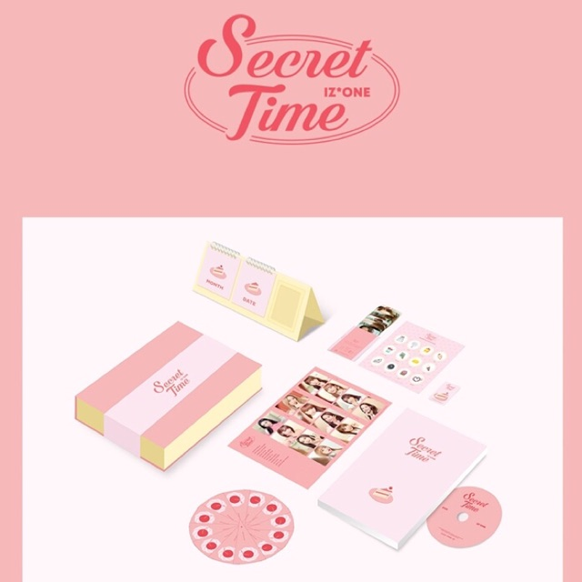 IZone Secret Time First Photobook