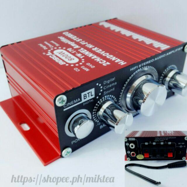 800w BOSCA amplifier yw-170