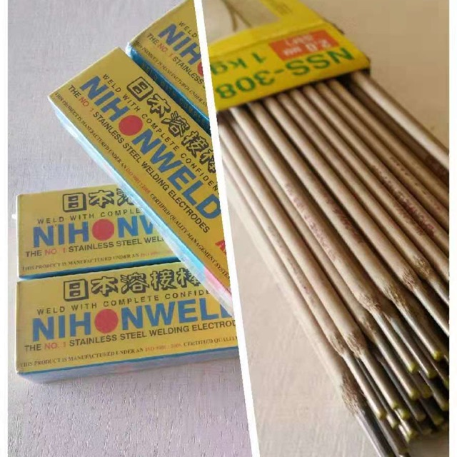 Nihonweld Stainless Steel Welding Rod 2 0mm Shopee Philippines