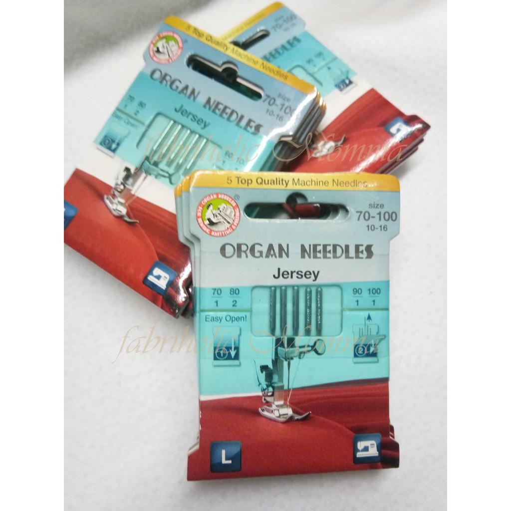 Organ Sewing Machine Needles Size 100 //16 10 Needles