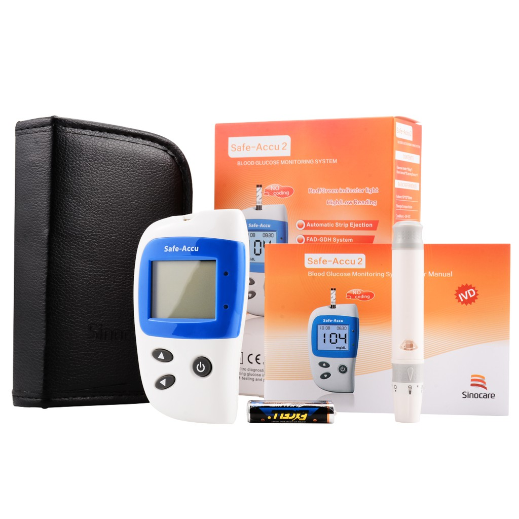 Household Blood Glucose monitor Test kit strips