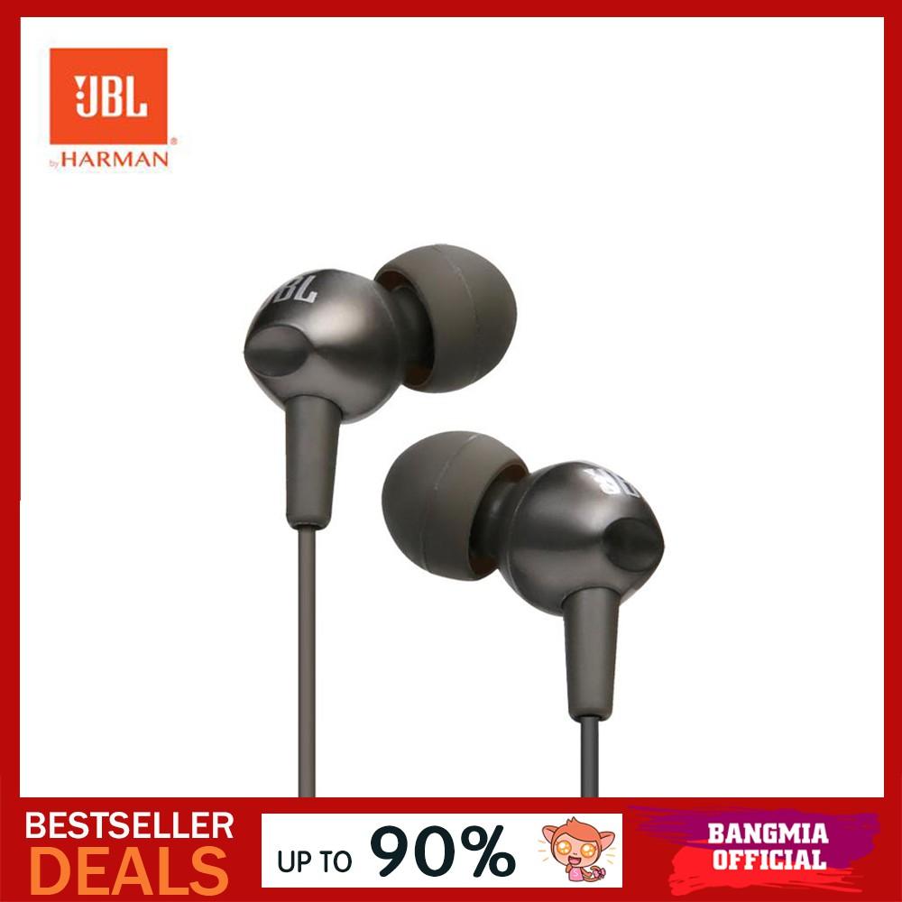 [New Upgrade] Original JBL C200SI In-Ear Music Earphones
