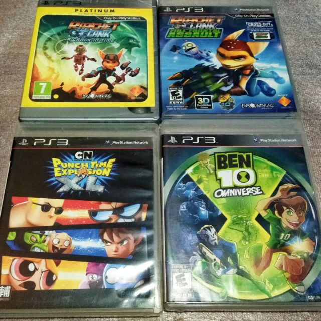PS3 ORIGINAL CD'S (TESTED)