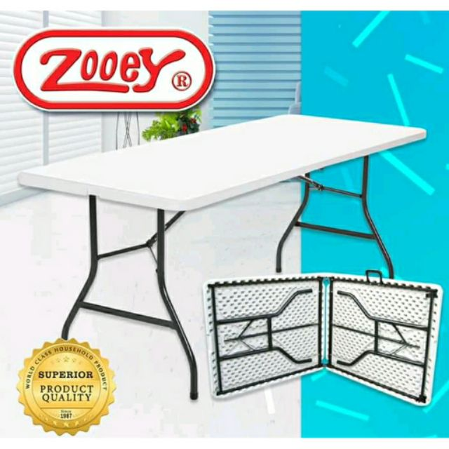 Zooey Foldable Table Free Delivery Within Metro Manila Shopee Philippines