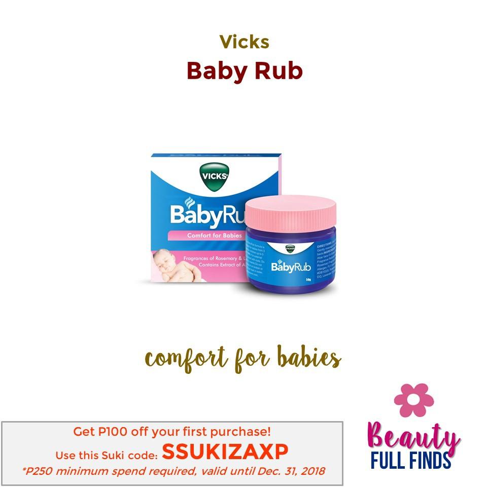 Vicks Baby Rub (50g)