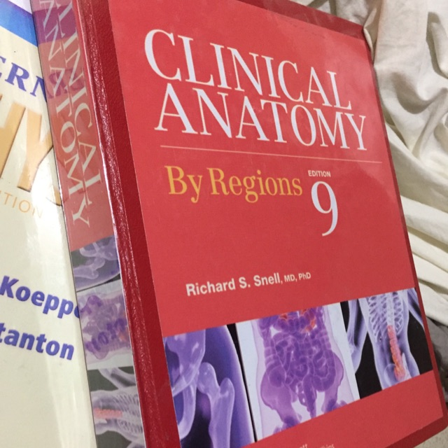 Clinical Anatomy By Snell Hard Bound Shopee Philippines