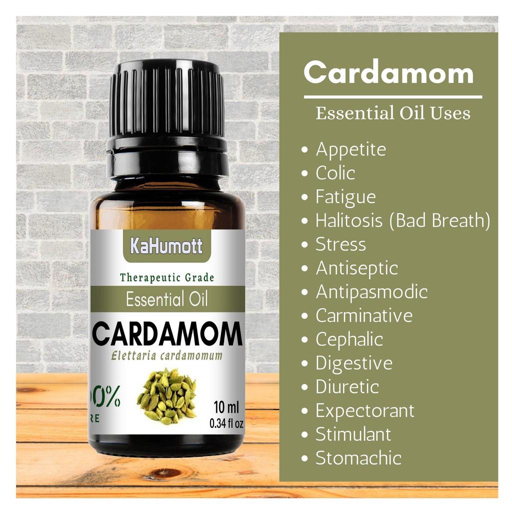 Cardamom 100 Pure Essential Oil 10 Ml Shopee Philippines