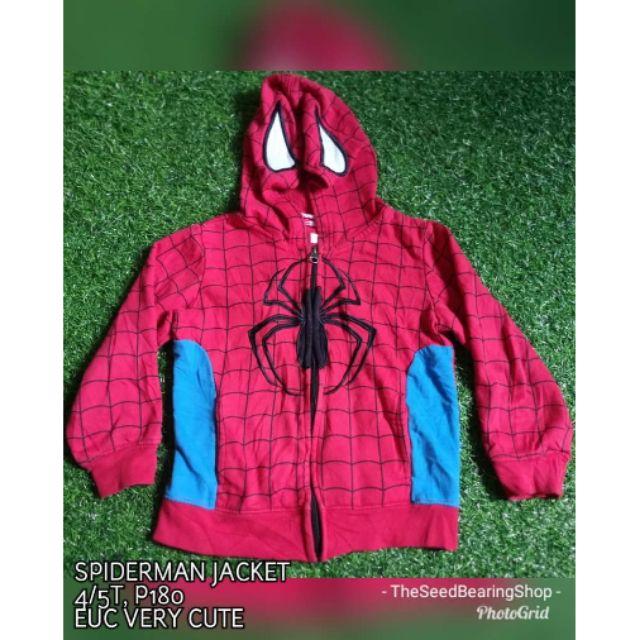 ddc9a6389c5ff Spiderman Jacket