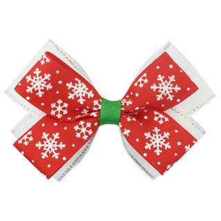 Christmas Hair Bows For Toddlers.10pcs Cute Christmas Hair Bows Girl Lovely Snow Hairpin Bowknot Hair Clip